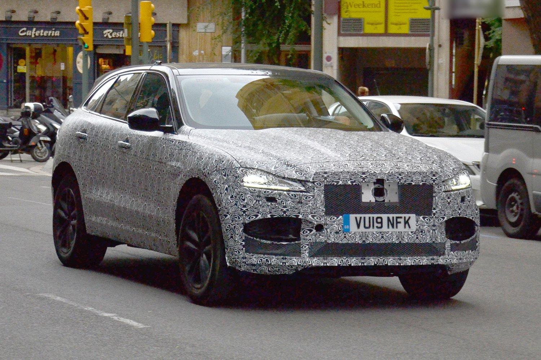 Nuova Jaguar F-Pace restyling
