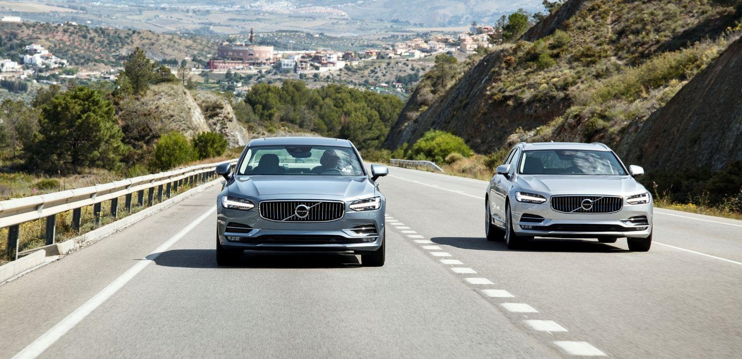 Volvo V90 e Volvo S90 2020