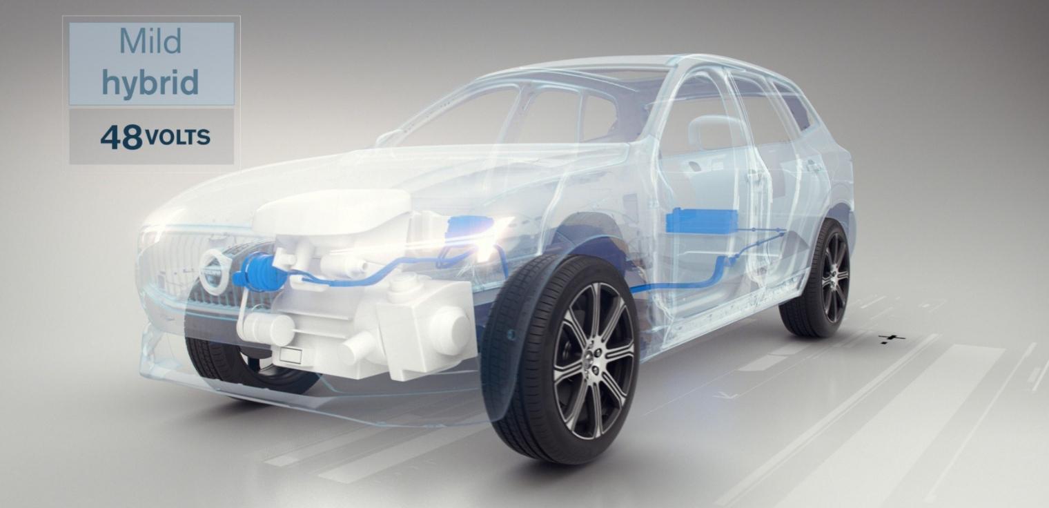 Auto mild hybrid funzionamento