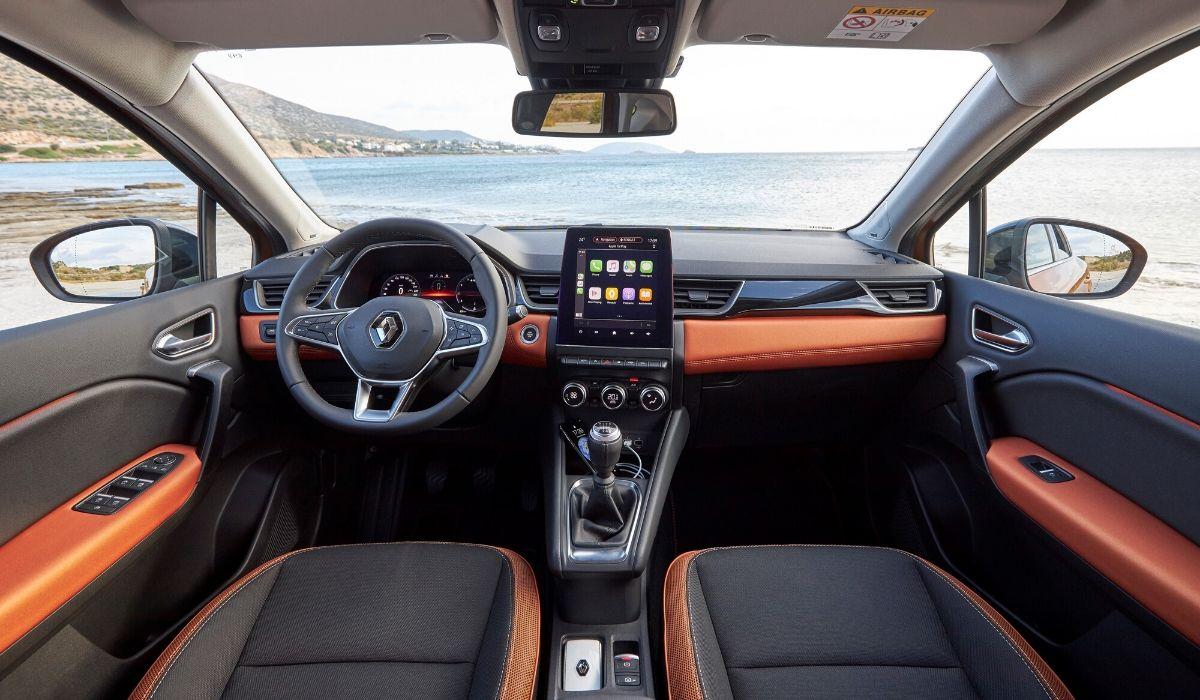 Nuova Renault Captur 2020 abitacolo