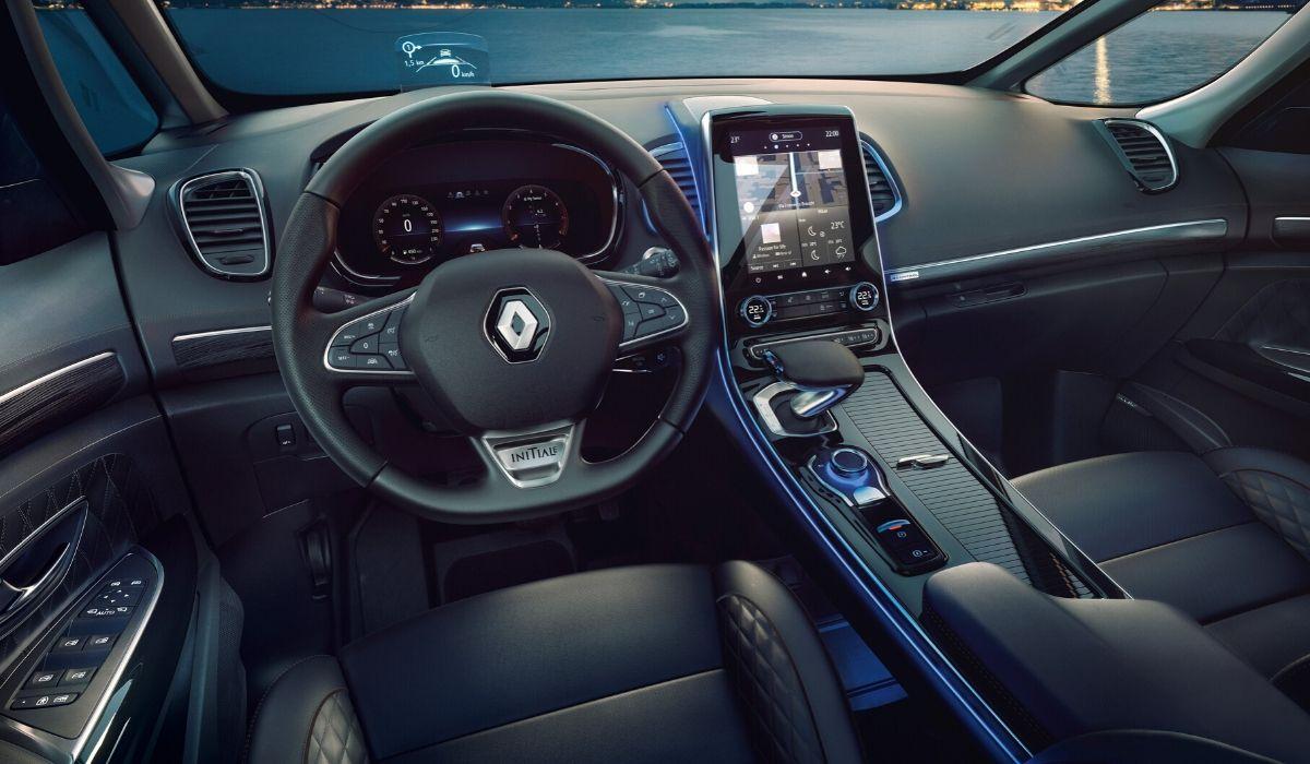 Nuova Renault Espace 2020 interni