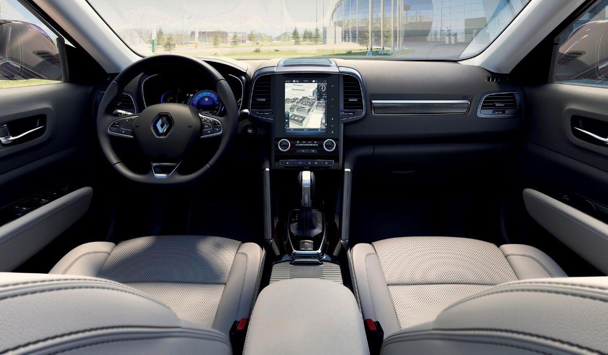 Nuova Renault Koleos 2020 abitacolo
