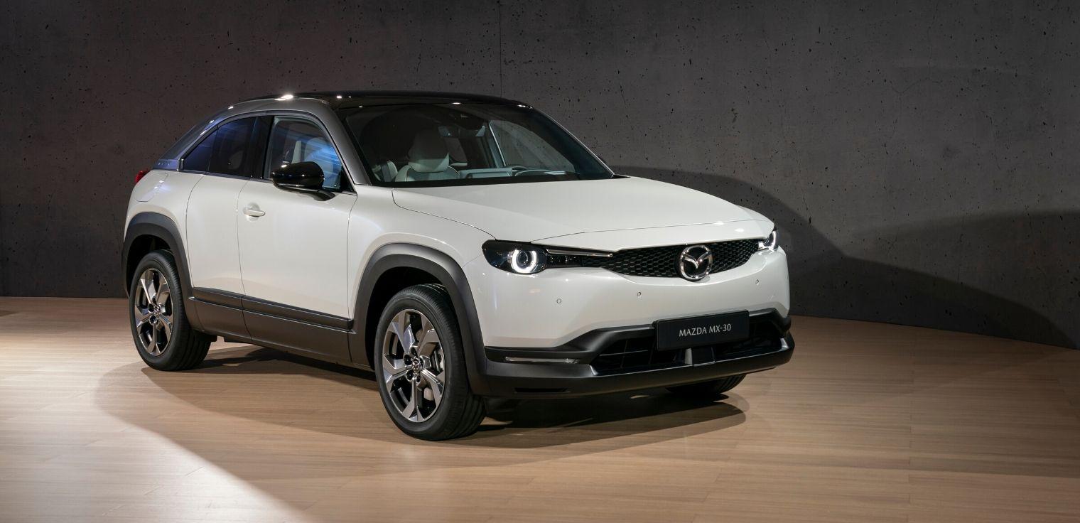 Nuova Mazda MX-30 2020 auto elettrica