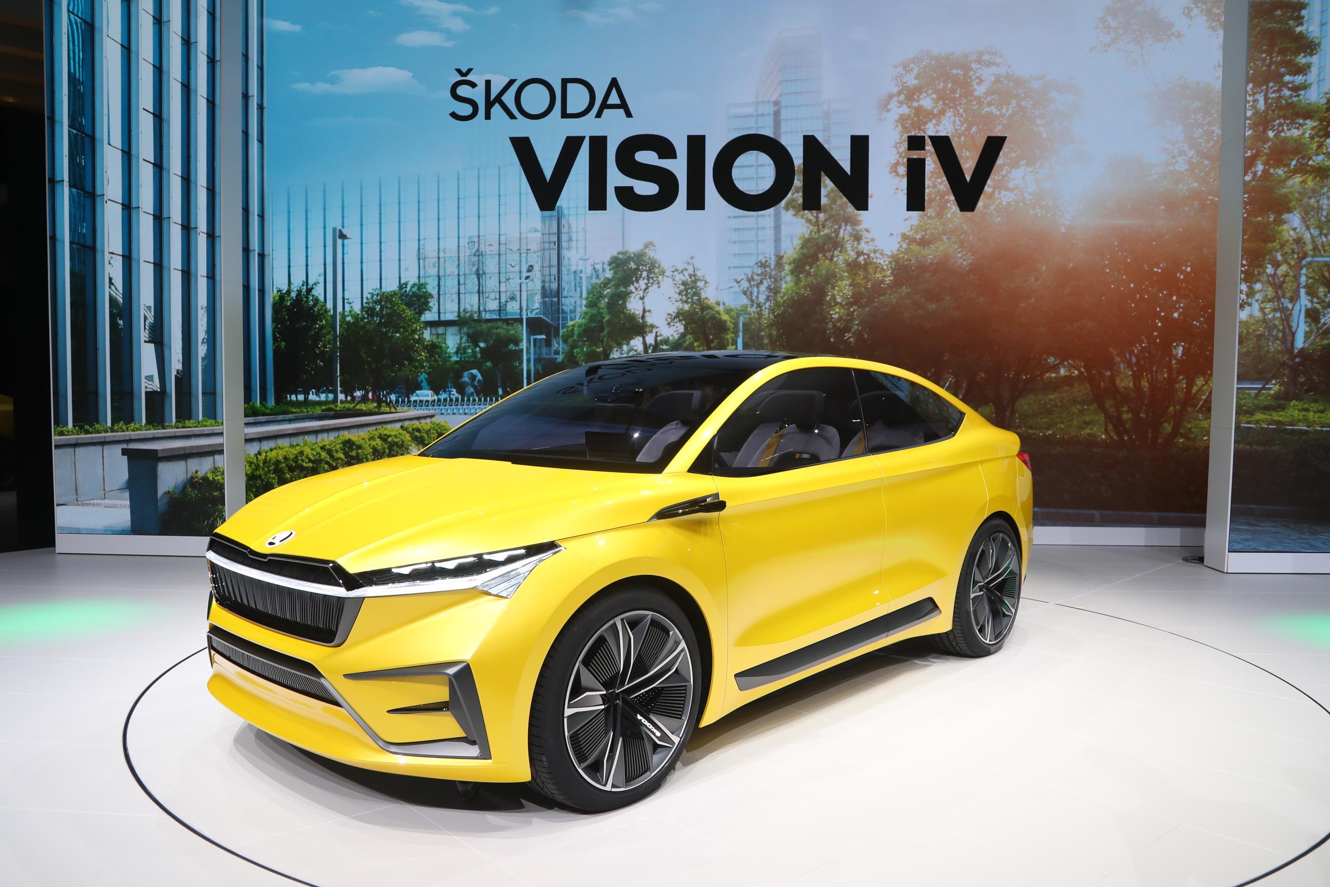 nuova Skoda Vision iV