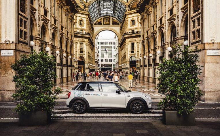 DriveNow a Milano introduce la tecnologia Telepass