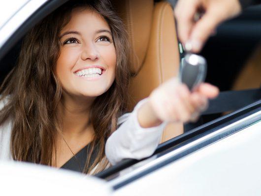 consegna auto noleggio a breve termine