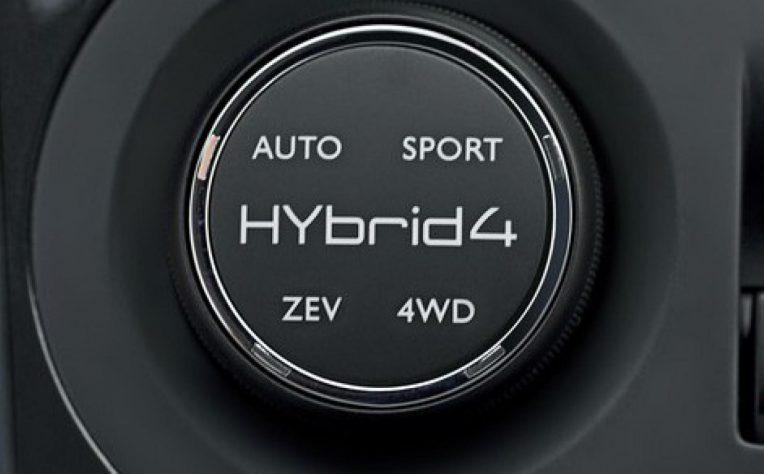 valori in crescita per le auto ibride