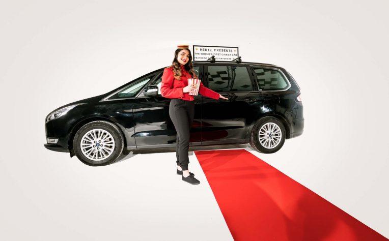 Herzt promuove Cinema Car 2018, l'auto sempre connessa