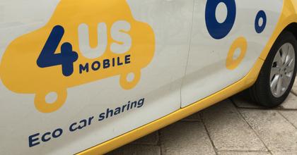 4USMobile car sharing Salento