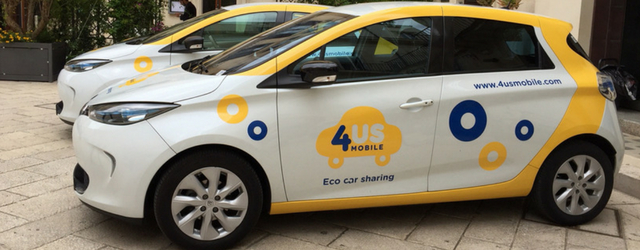 4USMobile car sharing elettrico