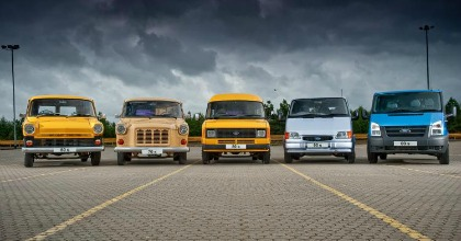 50 anni Transit veicoli commerciali ford