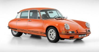 911 DS, risultato della fusione di una Porsche 911 e una Citroen DS
