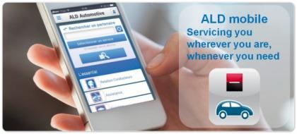 ALD Automotive applicazione mobile