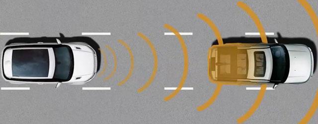 Funzionamento cruise control adattivo