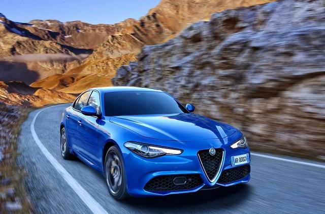 Alfa Romeo Giulia Chiaro e Tondo Impresa