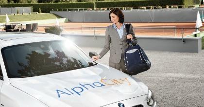 AlphaCity car sharing aziendale 2014