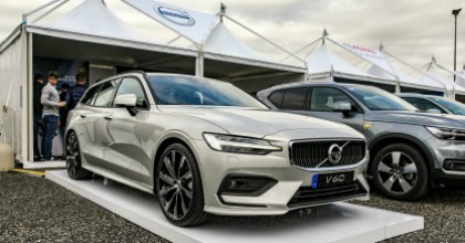 Anteprima nuova Volvo V60 Fleet Motor Day 2018