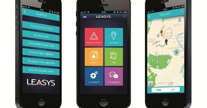 La nuova App Leasys