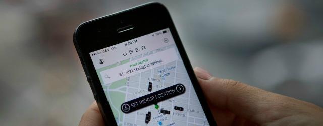 App Uber 2017