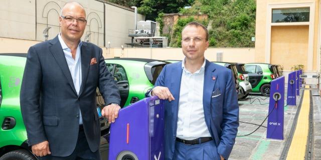 App auto elettrica Smart Enel