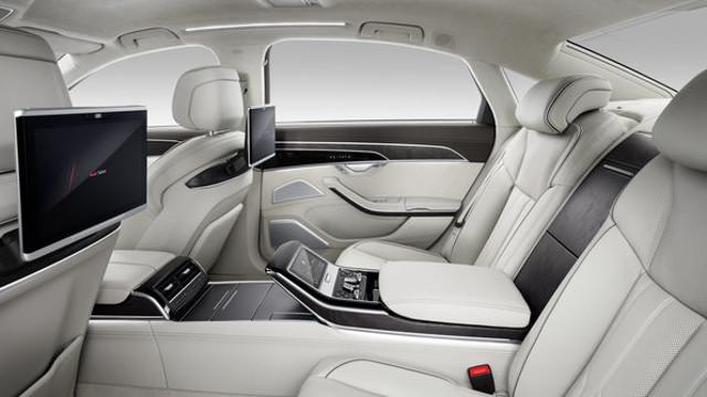 Nuova Audi A8 interni