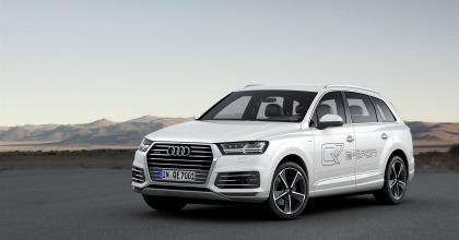 Audi Q7 e-tron Salone di Ginevra 2015