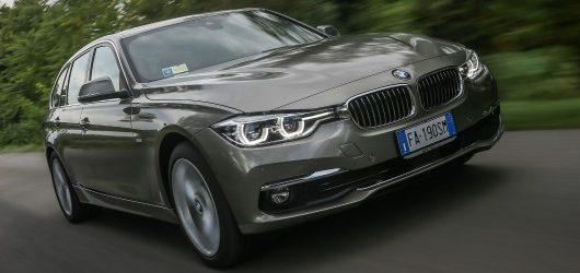 Auto aziendali più vendute 2015 BMW Serie 3 in azione
