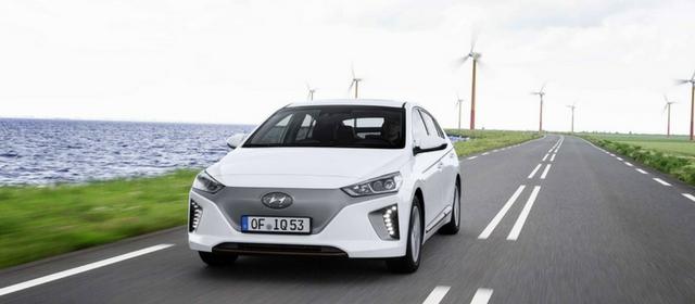 Tra le auto elettriche c'è la Hyundai Ioniq electric