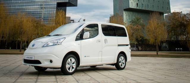 Non solo auto elettriche ma anche LCV elettrici, con il Nissan e-NV200