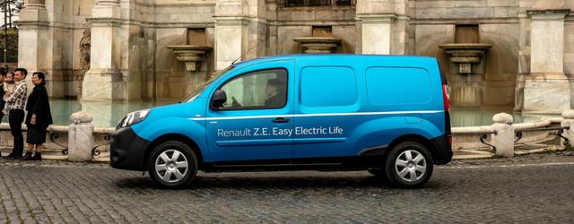 noleggio dei veicoli commerciali Renault Kangoo Z.E.