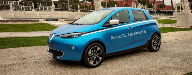 Auto elettriche Renault Zoe berlina