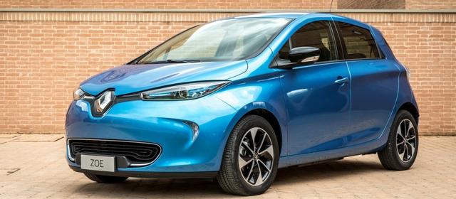 Tra le auto elettriche c'è la Renault Zoe