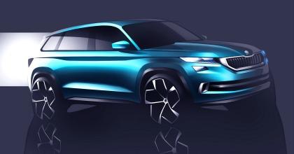 Auto elettriche salone di Ginevra 2016 Skoda Vision S prototipo