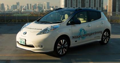 Auto guida autonoma test drive