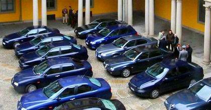 Auto blu pubblica amministrazione