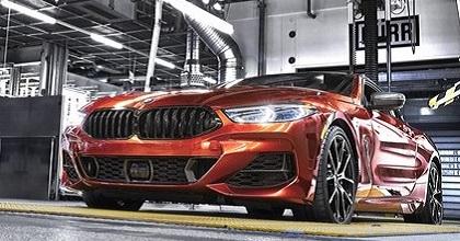 BMW Serie 8 prodotta a Dingolfing