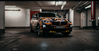 BMW X2 Salone di Detroit 2018, statica