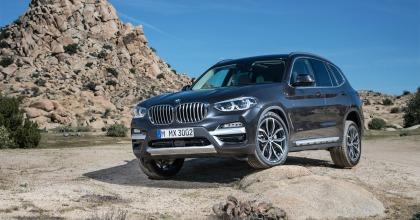 BMW al Salone di Francoforte 2017 presenta la terza generazione della X3
