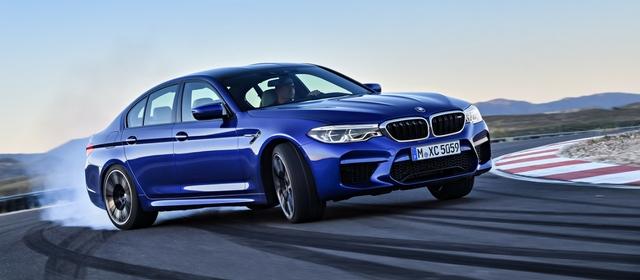 BMW al Salone di Francoforte 2017 presenta la nuova M5