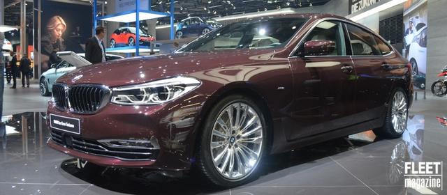 BMW al Salone di Francoforte 2017 presenta la Serie 6 GT