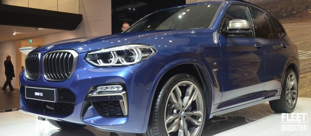 BMW al Salone di Francoforte 2017 svela la nuova X3