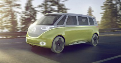 Buzz Volkswagen concept car