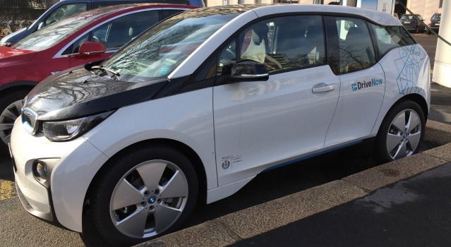 Car sharing BMW i3 DriveNow