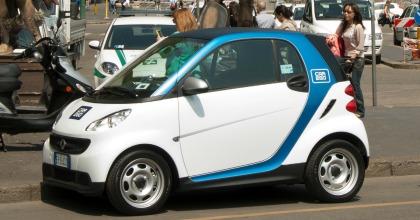 Car sharing a Milano