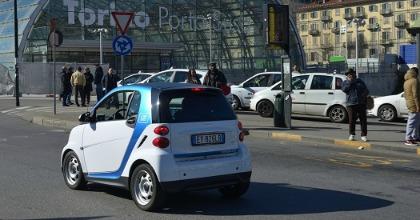 Car2go Torino car sharing