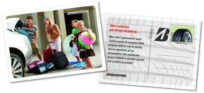 La cartolina di Bridgestone per la sicurezza