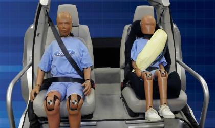 Cinture sicurezza Ford airbag integrato