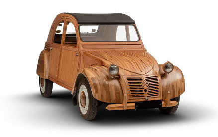 Citroen 2CV legno