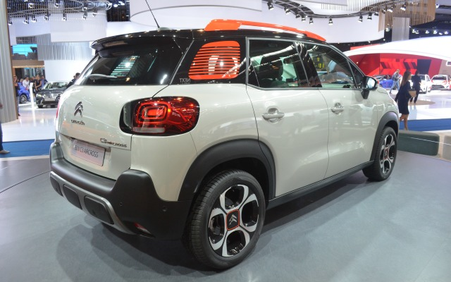 Citroen Salone Francoforte 2017 C3 Aircross