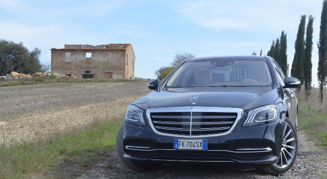 Frontale della nuova Mercedes Classe S